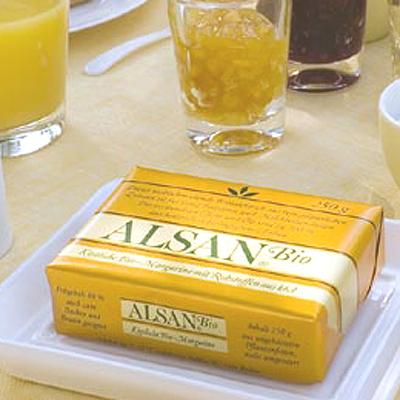 Pflanzenmargarine Vegan